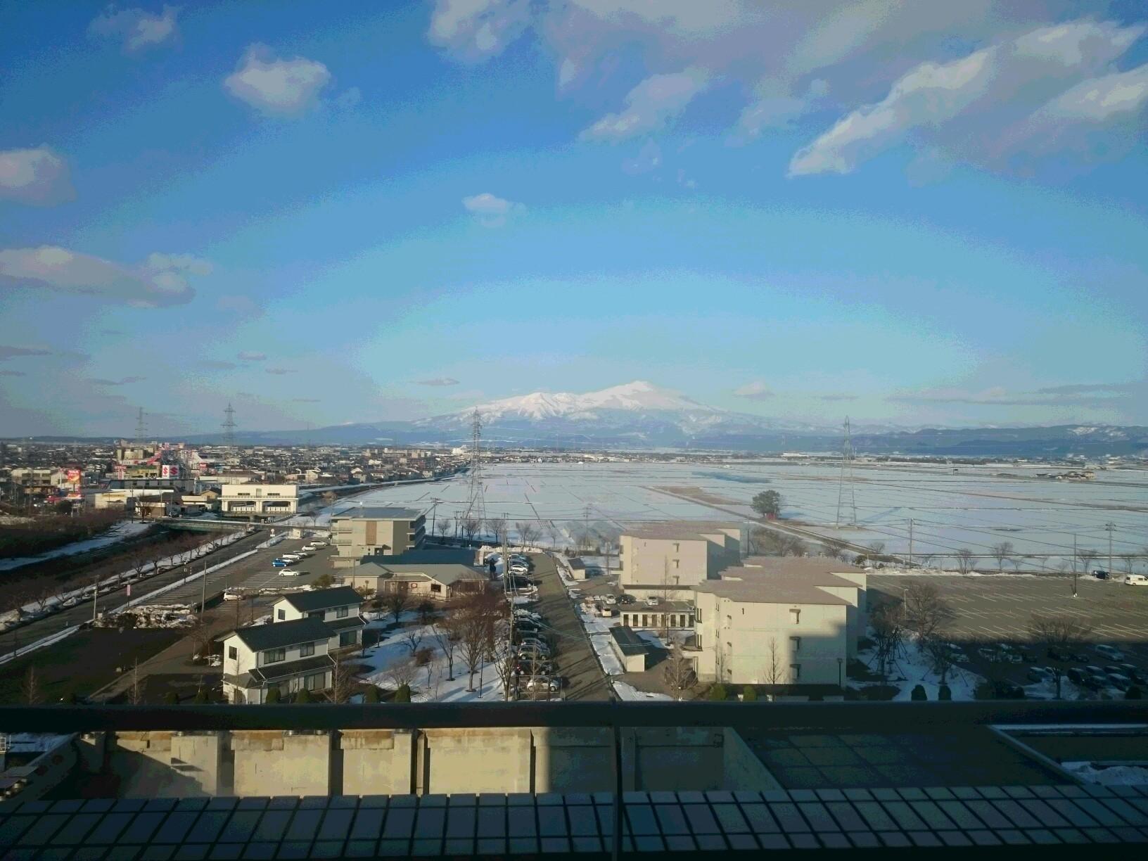 絶景! 鳥海山
